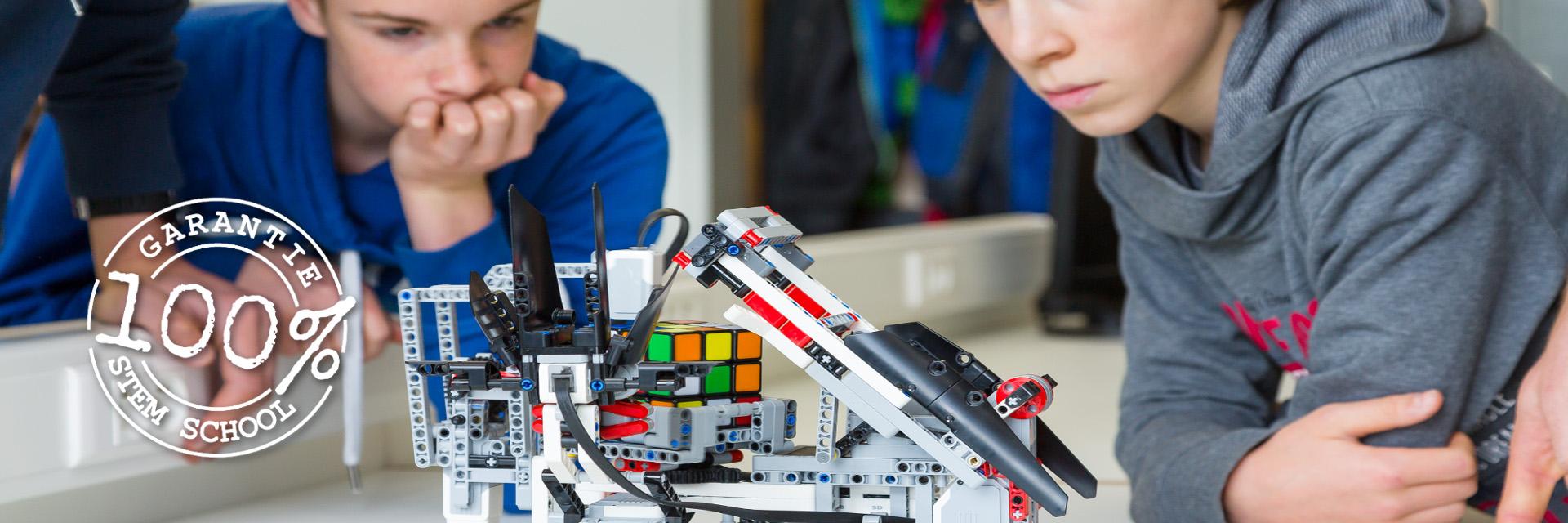 Dé referentie in de regio voor 100% STEM-onderwijs!